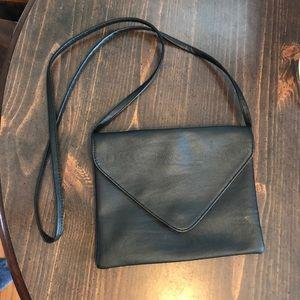 H&M Black envelope purse